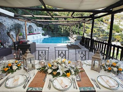 Photo for CHARMING VILLA near Amalfi with Pool & Wifi. **Up to $-2708 USD off - limited time** We respond 24/7