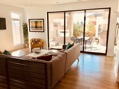 Photo for Beautiful Modern Home Minutes from Downtown with Hot Tub