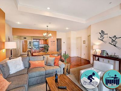 Photo for Stunning Ski on/ski off condo with a sport center on site
