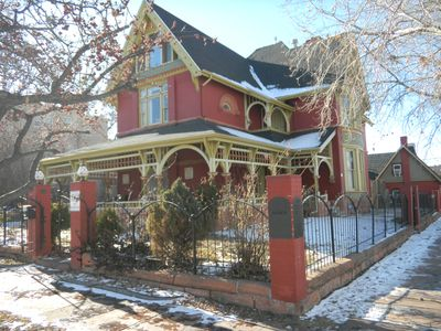 Photo for Unique Historic Victorian Mansion near Downtown Denver, Sleeps 16.