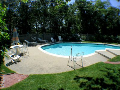 Photo for Inground Pool and Views of Pleasant Bay