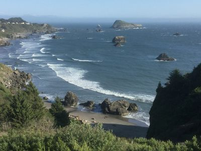 """A Southwest view from the deck at the """"White Water Cove"""""""