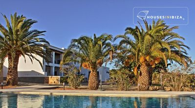 Photo for Charming Ibizan finca with spectacular views swimming pool sleeps 8 very quiet