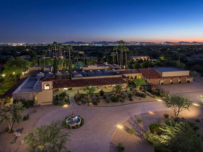 Photo for Beautiful HUGE Spanish Estate with views and fun games! LUXURY, PRIVATE, GATED!