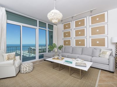 Photo for Stunning 3 Bedroom with Gorgeous Beach Front Views