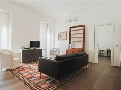 Photo for Spacious De Amicis I apartment in Centro Storico with WiFi, integrated air conditioning, balcony & …