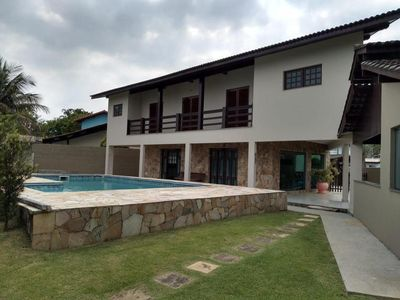 Photo for Beautiful large and spacious house, 300 meters from the beach of Guaratuba beach.