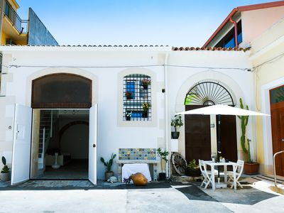 Photo for Comfortable Loft in a classic Sicilian courtyard near the sea of ​​Avola, Sicily