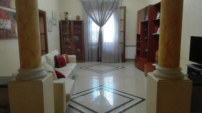 Photo for Beautiful apartment in the historic center of Carini near the airport and the sea