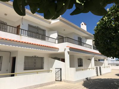 Photo for CASA NARANJOS 4 - Apartment 800m from the beach, WiFi, Private parking. Access to the communal swimm