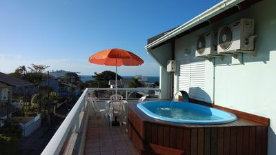 Photo for Penthouse w/ fabulous ocean view - only 5 mins to Beto Carrero Theme Park