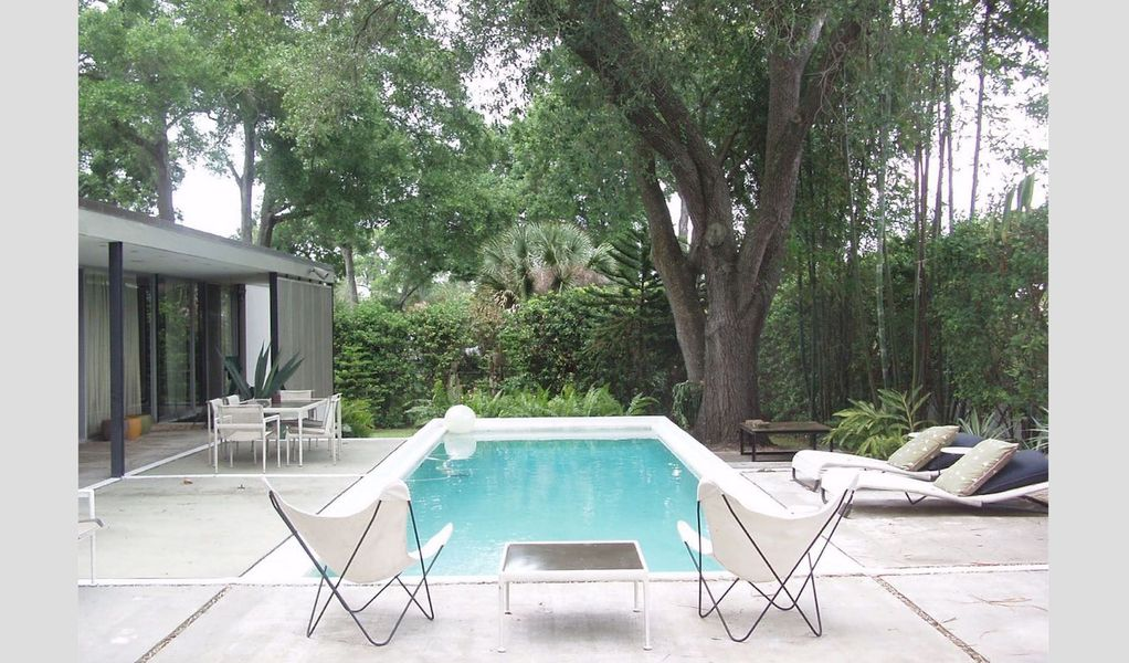 Mid Century Modern Authors Architectural Pool Home Now With Heat Lakeland
