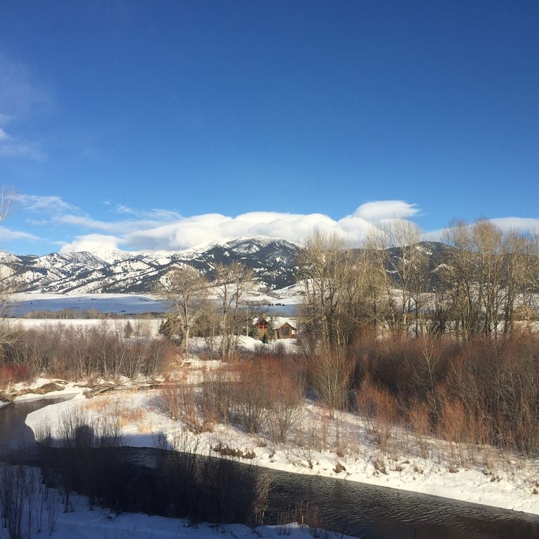 East Gallatin River Property With Gorgeous Mountain Views