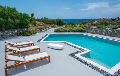 Photo for Platinum Paros Villa | Villa Dryos IV | 4 Bedrooms | Sea Views | Chryssi Akti