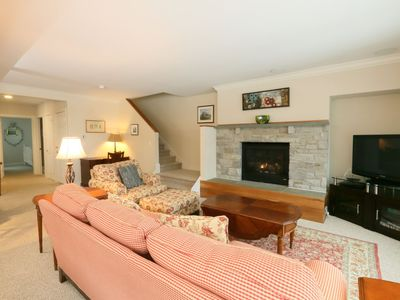 3BR, 3BA Overlook at Topnotch Resort & Spa with Fantastic View of Mt. Mansfield! Sleeps up to 7, includes garage.