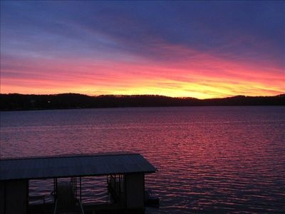 Photo for Great lake front Location-Gorgeous View- a Lake House Getaway Near Laurie