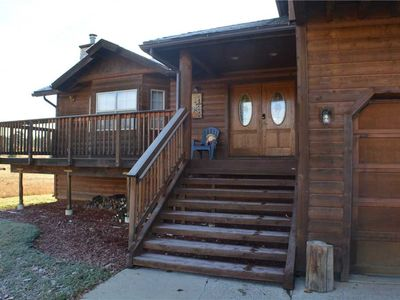 Photo for Alpen Haus Lodge: 5 BR / 2.5 BA house/cabin in Pagosa Springs, Sleeps 12