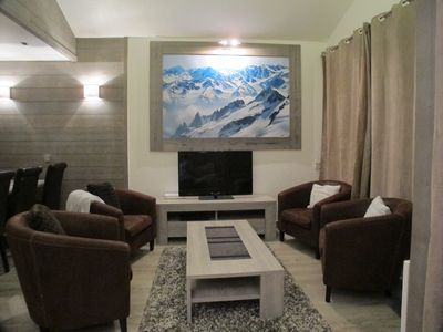 Photo for Penthouse On The Piste, Ski-in Ski-out And Top Floor Mountain Views