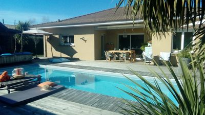 Photo for EXCEPTIONAL VILLA STYLE BASIN WITH HEATED POOL A LEGE CAP FERRET