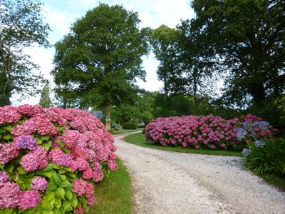 Photo for GROUND LUXURY GARDEN with Park on the GR 34. SOUTH BRETAGNE ........