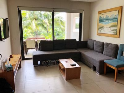 Photo for Modern and spacious, two-bedroom apartment.