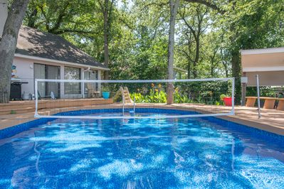 This inviting pool is the perfect place to spend a summer afternoon!