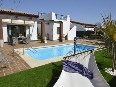 Photo for luxurious villa on golf course with private pool for relaxing holidays