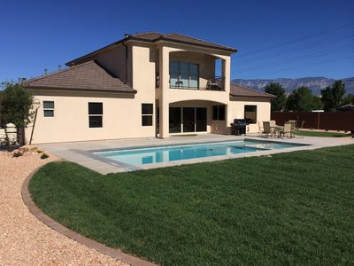 Photo for Private Pool and Putting Green - Located just outside Zion and St. George, UT