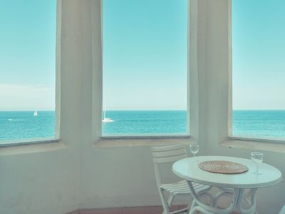 Photo for Charming Seafront Apartment, Perfect for Families