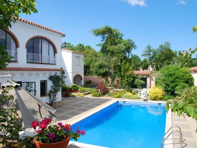 Photo for Quietly located, privacy offering villa with private pool, near Lloret de Mar