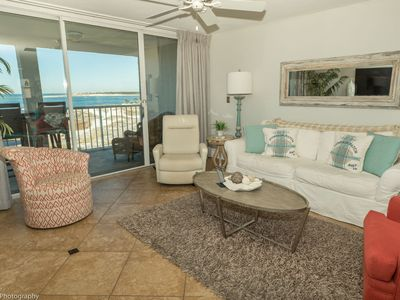Photo for Gorgeous 2 BR with Amazing sunset views and completely updated comes with Free Beach Set up for two