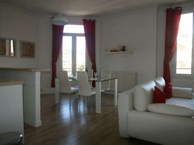 Photo for Light and Airy Two Bedroom Apartment in Cannes