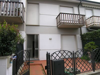 Photo for In Viareggio, between pine forest and sea villa with car and court place