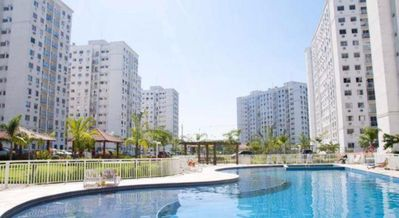 Photo for Apartment in Barra da Tijuca 2 Qts w / Wi-Fi, air cond and parking space