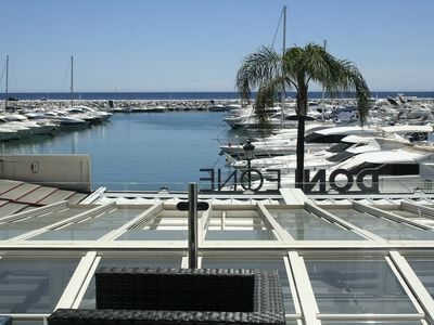 Photo for First Line Port and Beach Puerto Banus Marbella (Sleeps 6)