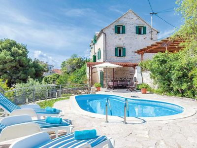 Photo for 3 bedroom Villa, sleeps 6 in Sumartin with Pool, Air Con and WiFi