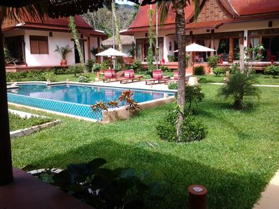 Photo for Charming and Authentic Thai Villa facing river surrended by jungle
