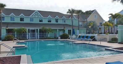 Photo for Gorgeous1st Level Villa, 2 pools& hot tub, minutes from Disney/Orlando, No Steps