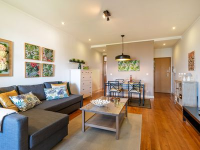 Photo for Bright apartment in the heights of Lisbon