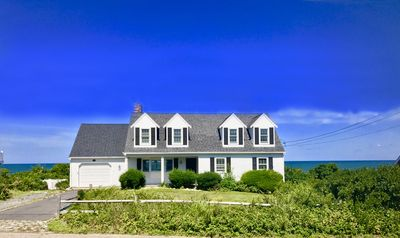 Photo for Lovely Waterfront 4 bedroom Home on Cape Cod Bay and Private Beach W/Central A/C