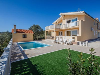 Photo for Panoramic view peaceful  holiday home on a fenced property with a private pool