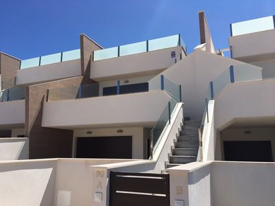 Photo for Luxury Brand New 2 Bedroom Apartment with large Solarium , Shared Pool
