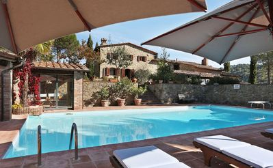 Photo for Villa in Gaiole In Chianti with 4 bedrooms sleeps 8