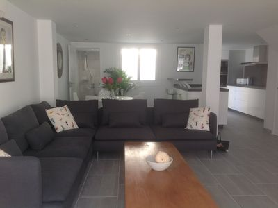 Photo for BEACH HOUSE  LA CALA3 bed 3 bath 5 *****star rating. Beach front location.