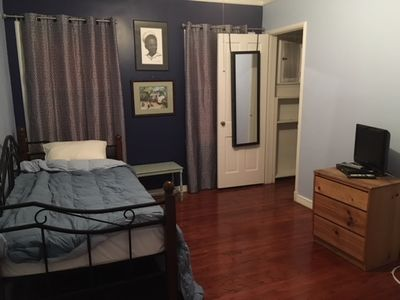 Photo for Comfy room in quaint and quiet home setting.