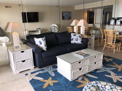 Photo for DAILY ACTIVITIES & LINENS INCLUDED*! This well-maintained 2 bedroom, 2 bath direct ocean front condo has balcony access from living room and master bedroom