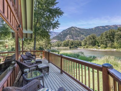Photo for Edgewater Lodge: Best River View in Leavenworth!