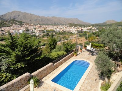 Photo for Coster Catalanet, Villa On The Edge Off Pollença With Amazing Views ETV 1808