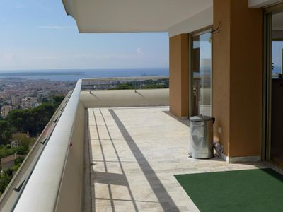 Photo for Panoramic Sea View Apartment Cannes