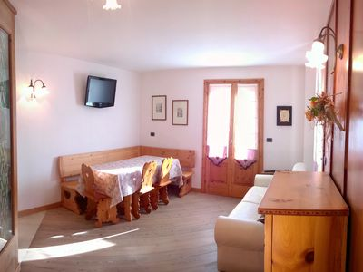 Photo for Bormio house with character 500mt from ski lifts